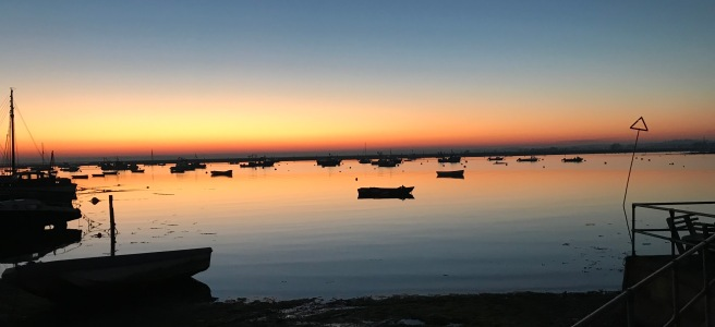 Sunset over Mersea Island