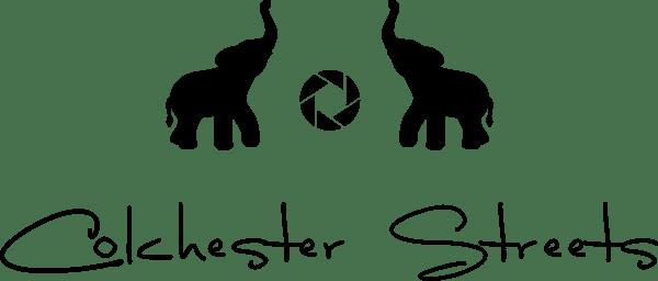 Colchester Streets logo. Colchester based photographer