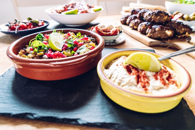 Mediterranean feast by Gemma and Life blog. Food blogger. Essex.
