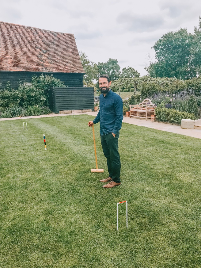 Croquet. Essex blogger