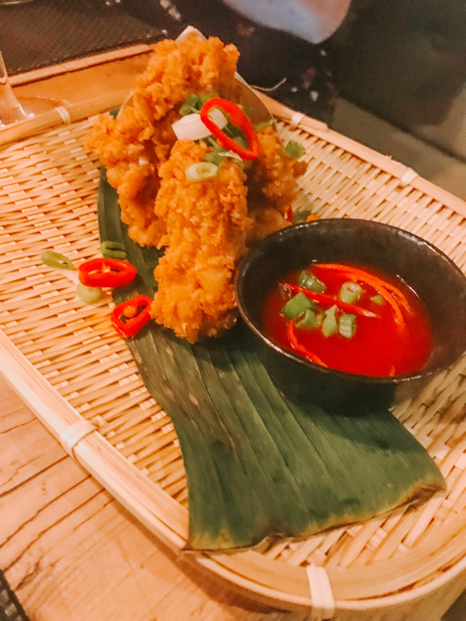 Salt and pepper squid. Giggling squid restaurant